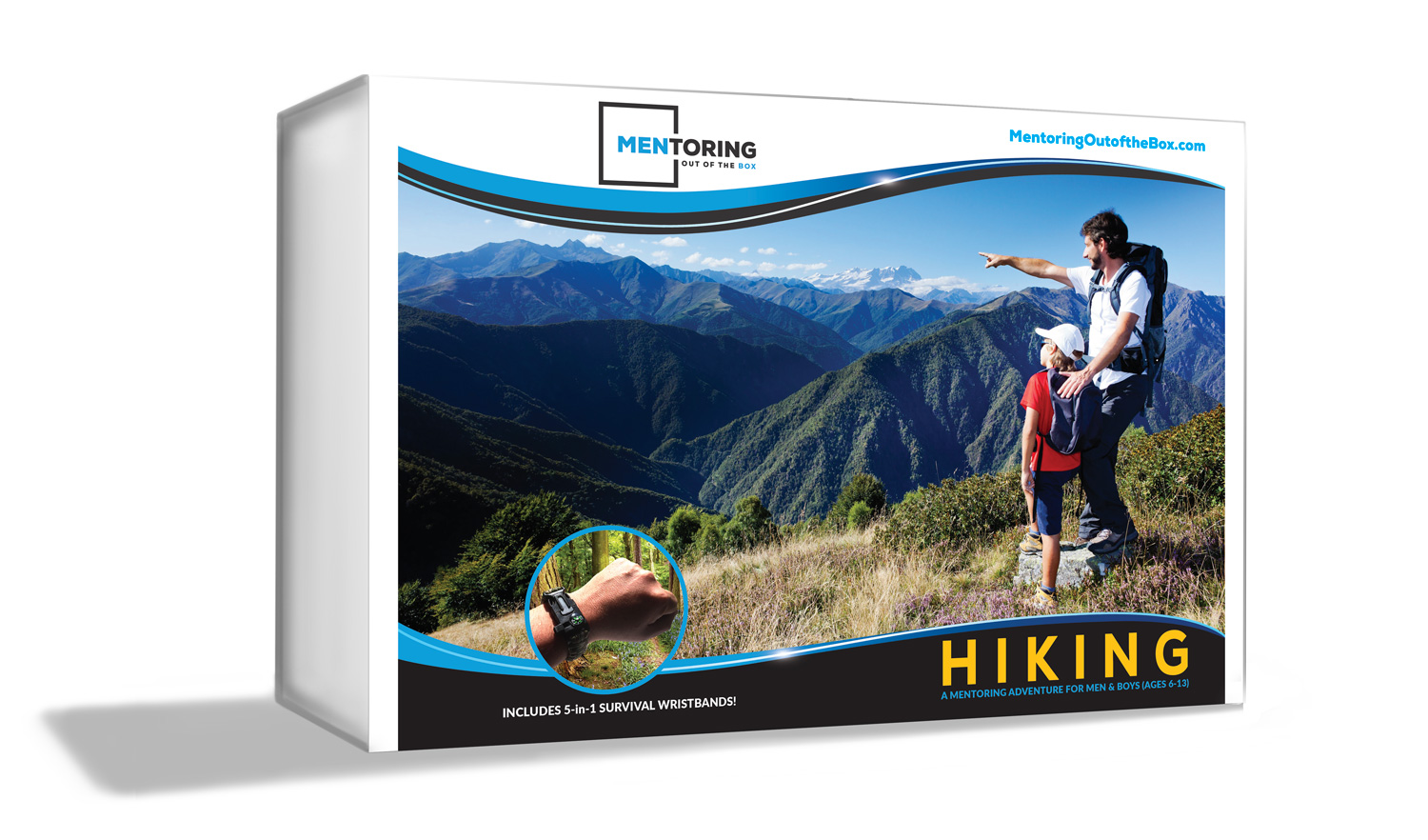 Mentoring Out of the Box - Hiking - is for up to (5) boys to learn to enjoy nature!