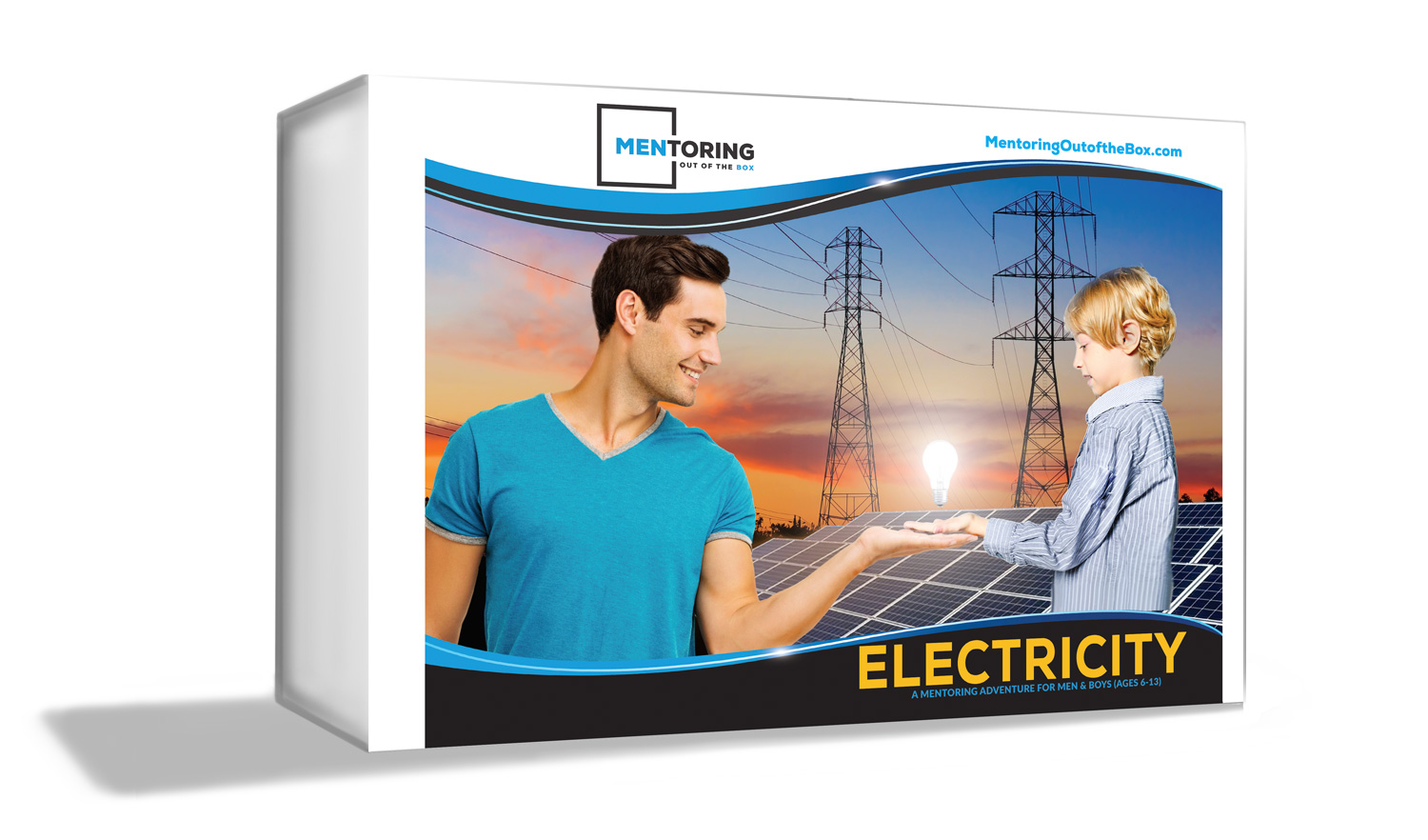 Mentoring Out of the Box - Electricity - is for up to (5) boys to go on a discovery adventure!